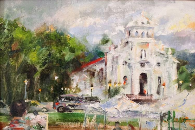 Art fair painter - Image 0
