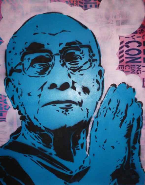 Dalai Lama Portrait -