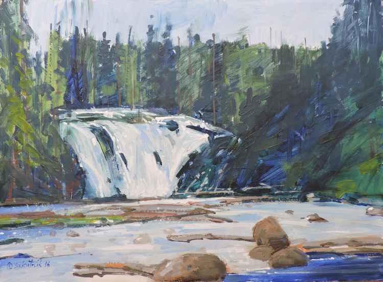 Lewis Falls -