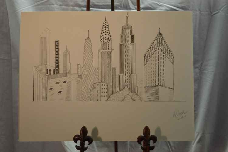 Iconic NY Buildings