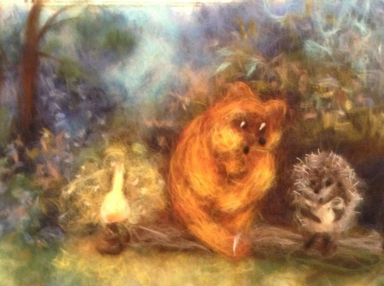 Bear and hedgehog - Image 0