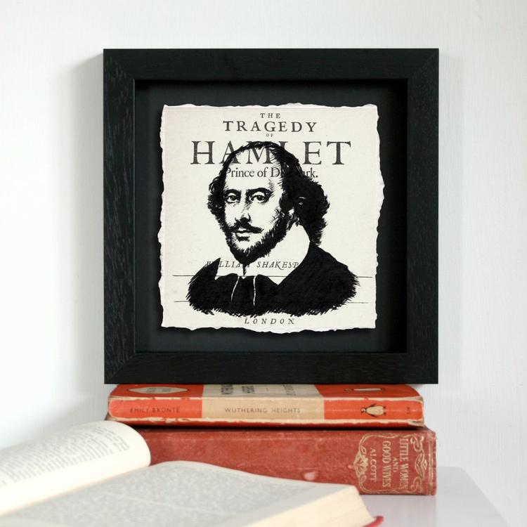 Shakespeare - Hamlet (Framed) - Image 0