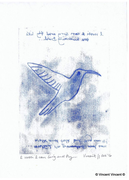 Sketch Project: I wish I can Sing and Fly... - Image 0