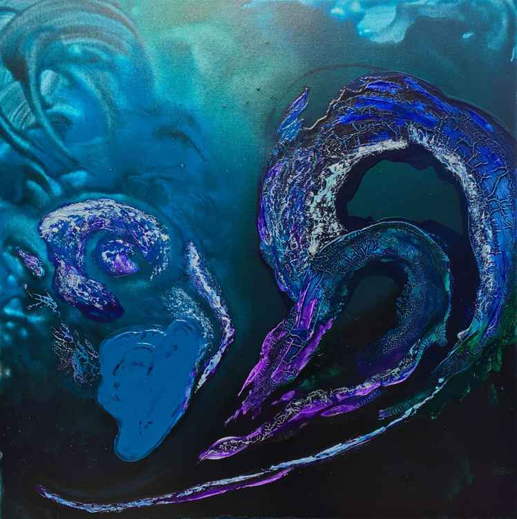 Heart of the Ocean #16090 (80x80cm) Free shipping to Europe