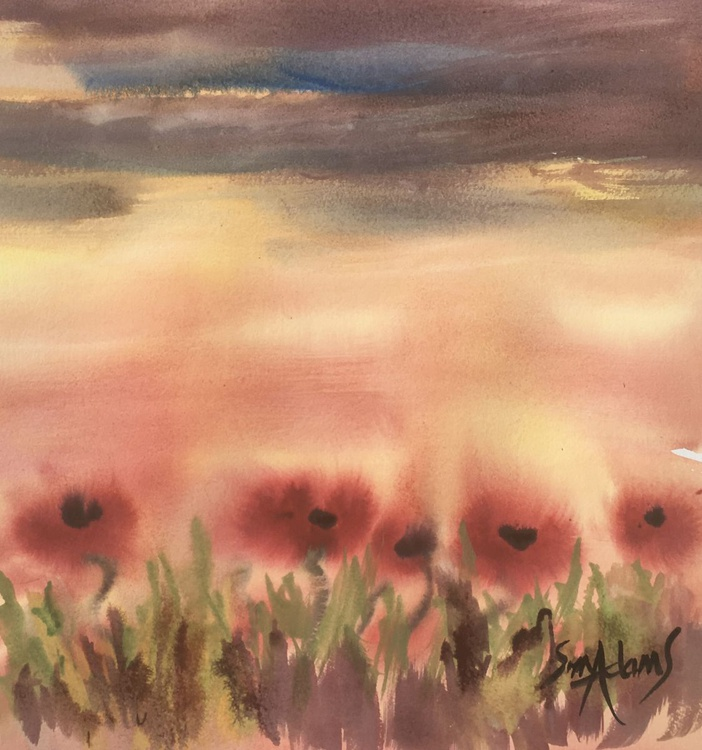 """""""POPPIES WITH ROMEO"""" - Image 0"""