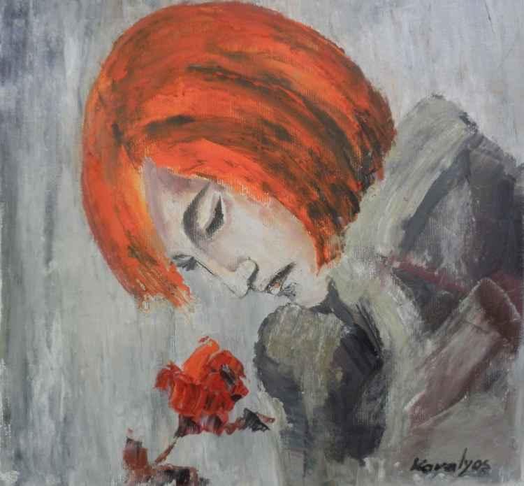 Roses perfume -