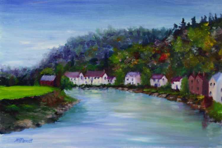 Wye River View, Tintern -