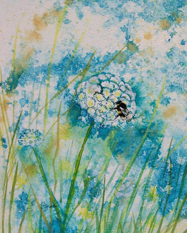 Bee in Sand Dune Flora - Image 0