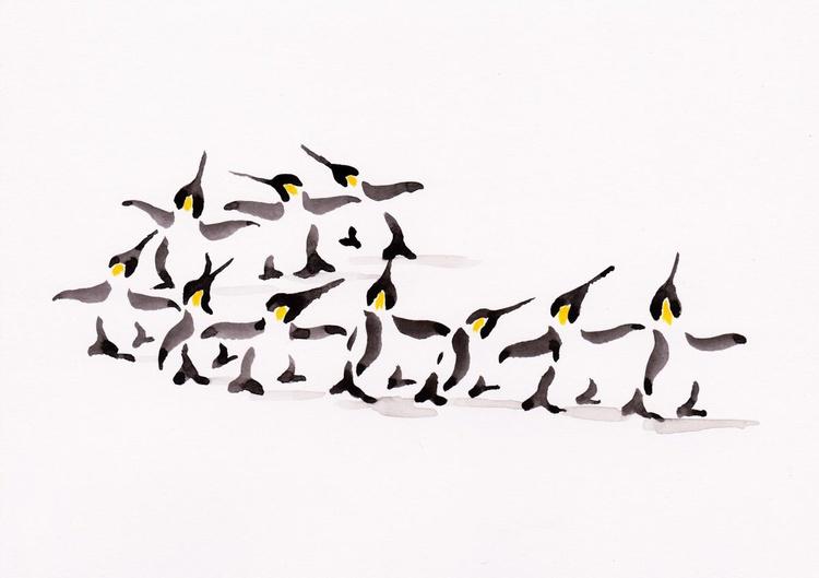Ten penguins - Image 0