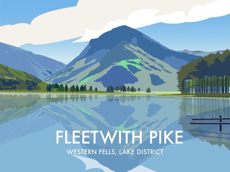 Fleetwith Pike, The Lake District - Image 0