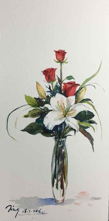 Vase of Flowers -