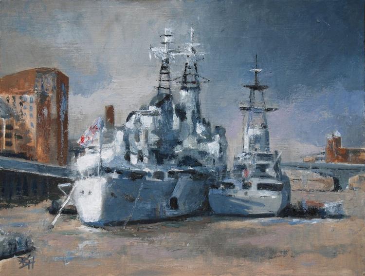 HMS Belfast - Battleship Grey - Image 0