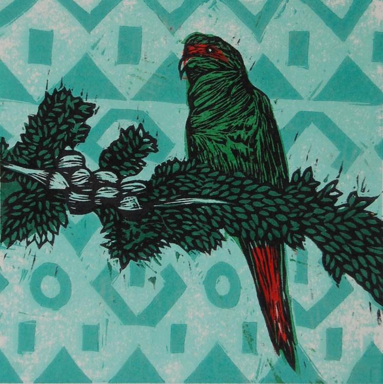 Serie Pájaros Chilenos: Choroy - Image 0
