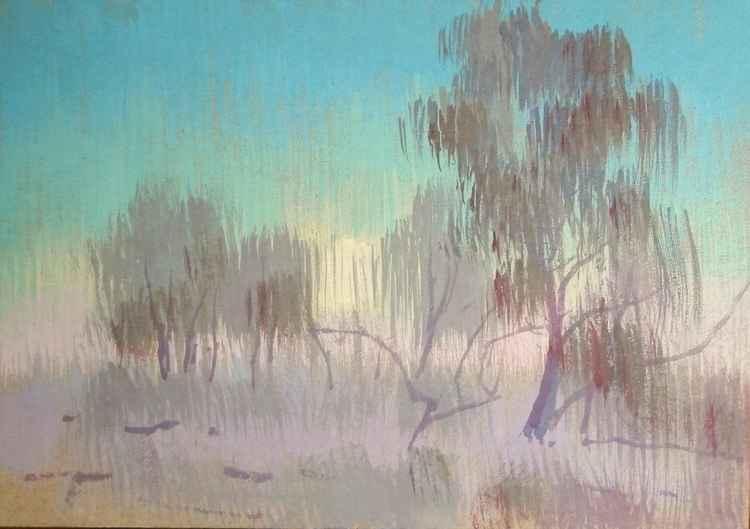winter fog -