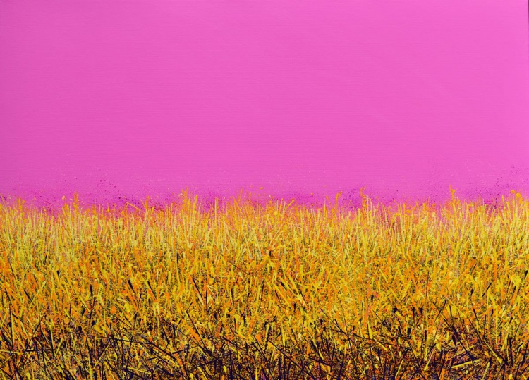 Park Life - Pink and Gold - Image 0