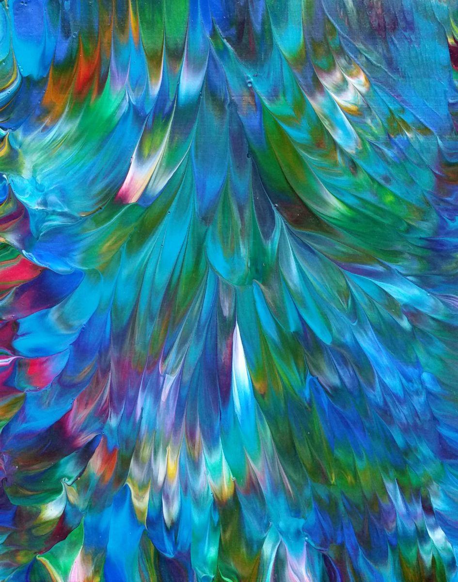 Spring Breeze (2017) Acrylic painting by Alexandra Romano ...