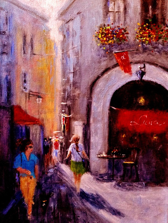 Streets of Vernazza.. - Image 0
