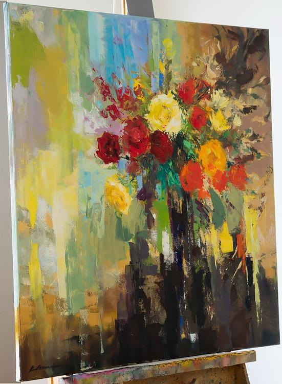 'Roses in Bloom' - Image 0