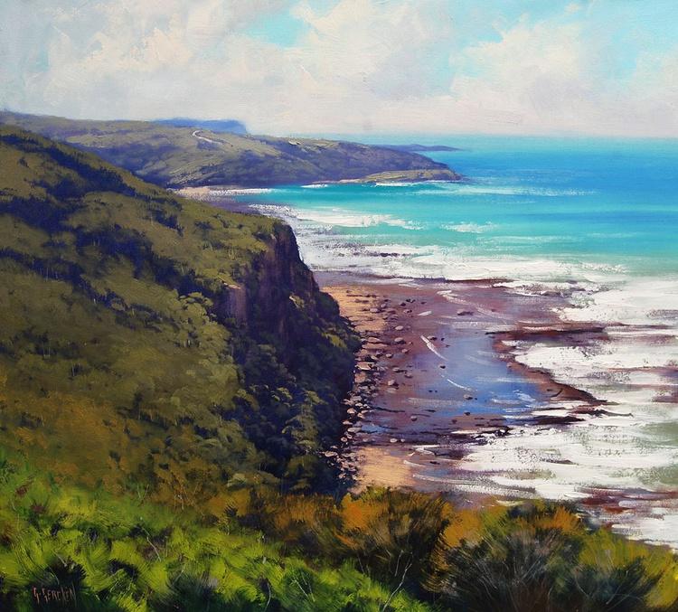 Coastal cliffs Munmorah Australia - Image 0