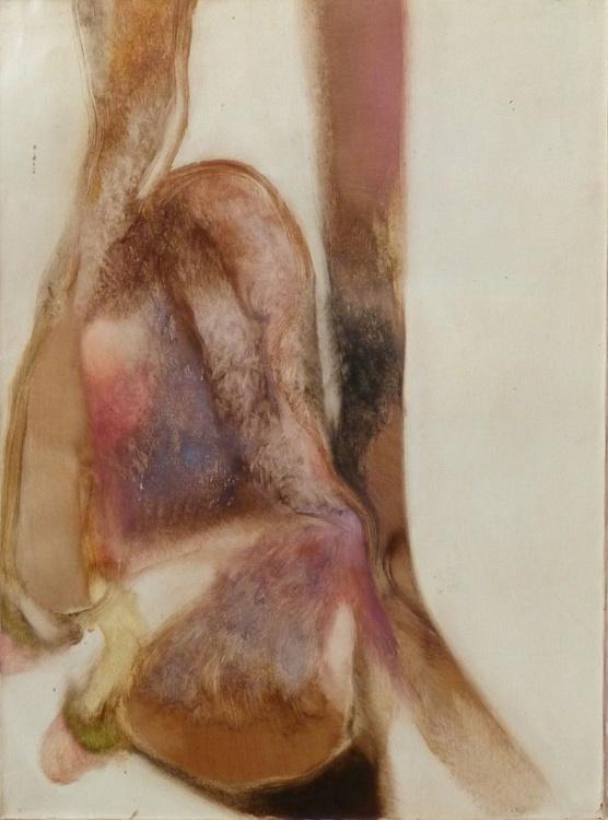 Study of flesh, oil on canvas, 73x54 cm - Image 0