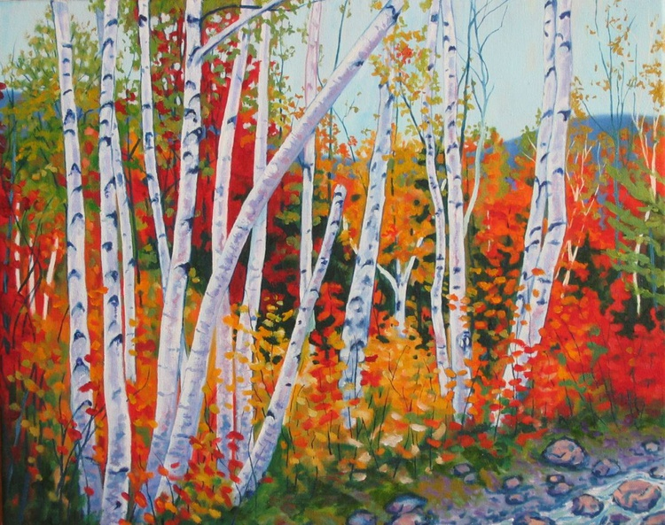 Fall Birches - Image 0
