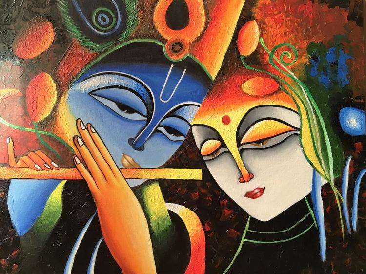 Radha Krishna in Eternal Love - Image 0