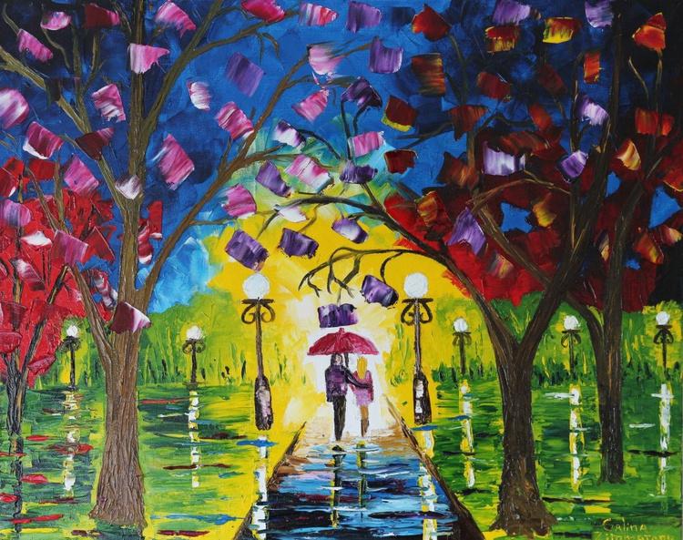 Rain in the Park - Image 0