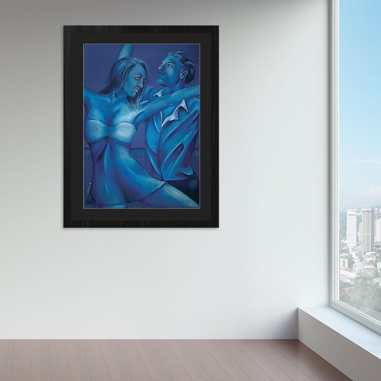 Dancers in Blue - Image 0