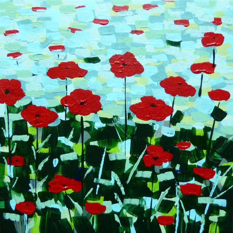 Patchwork Poppies - Image 0