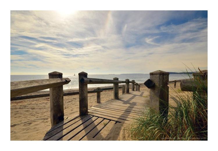 Pwllheli Beach and Board Walk - Image 0