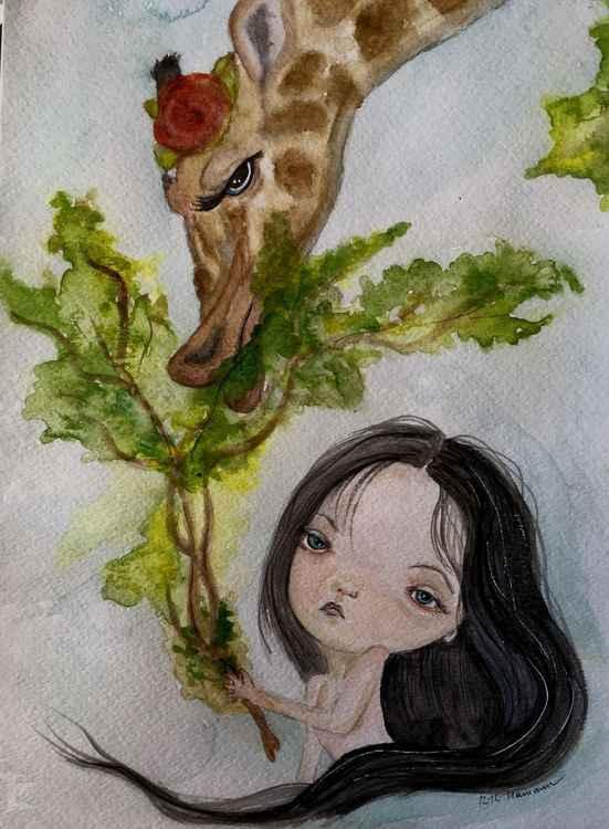 Mathilde and the Giraffe