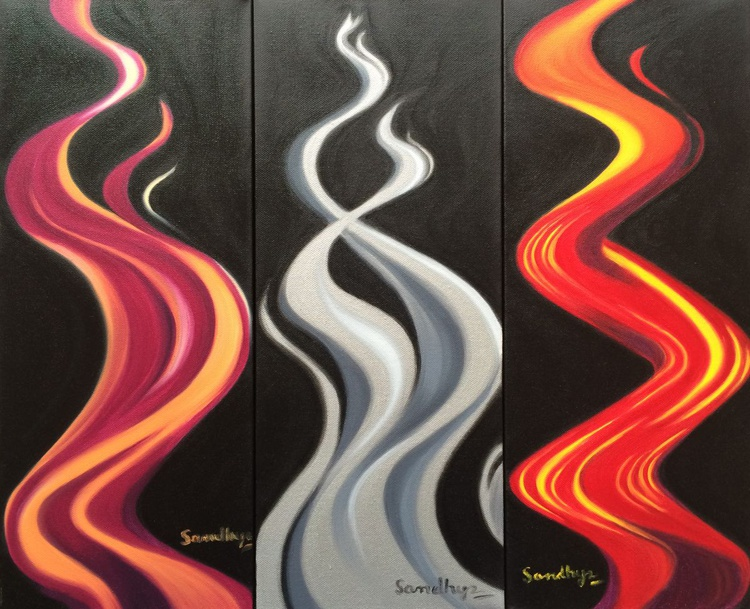 Flame of Life 1, 2 and 3 (SERIES) - Image 0