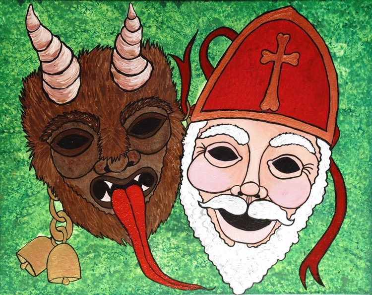 Krampus and St Nicholas - Image 0