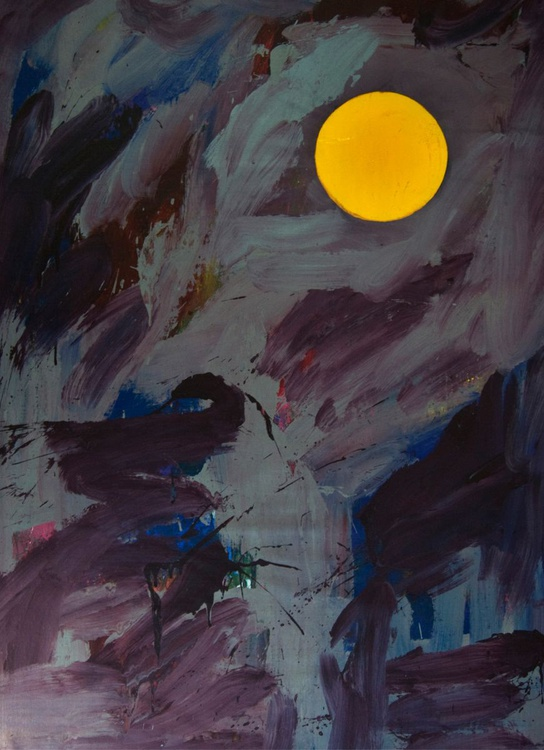 Moon Painting (Eva) - Image 0