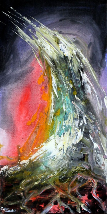 Elementary #1-  abstract painting - Image 0