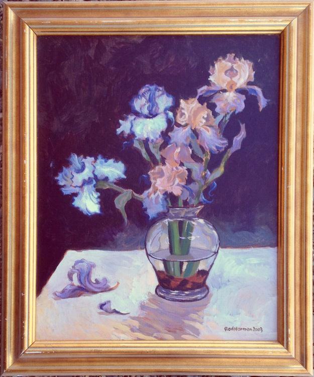 Floral Arrangement #1 (framed) - Image 0