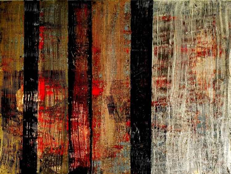 Metallic Abstract #5 -