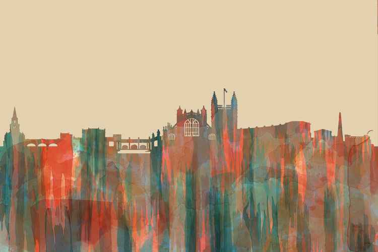 Bath UK Skyline - Navaho -
