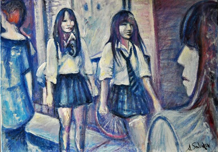 Japanese Schoolgirls - Image 0
