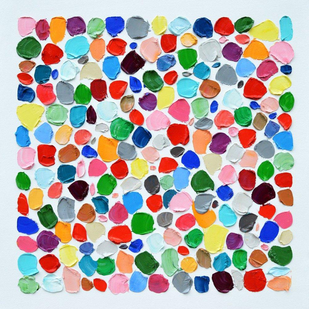 Polka Daub Pebbles by Ann Marie Coolick