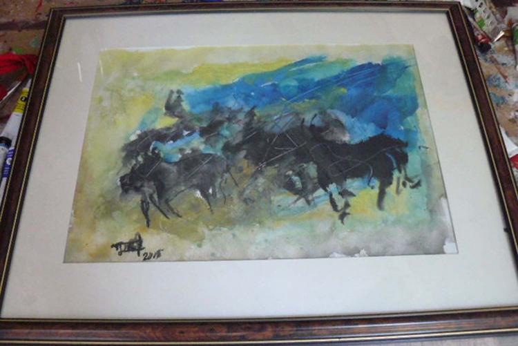 """Bulls in """"Camargue"""" - Image 0"""