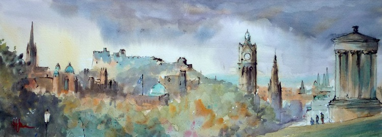 Edinburgh Skyline - Image 0