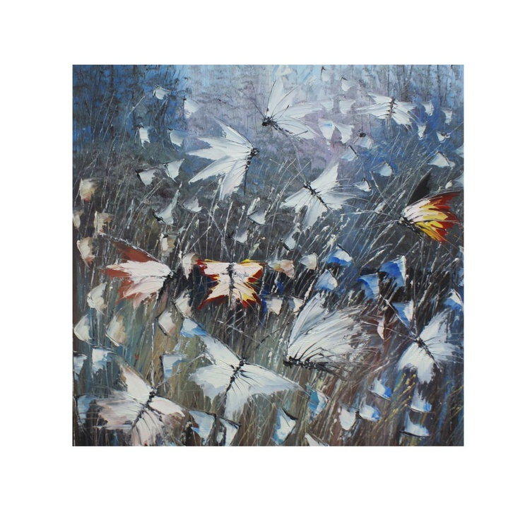 """The painting """"butterflies 1"""" - Image 0"""