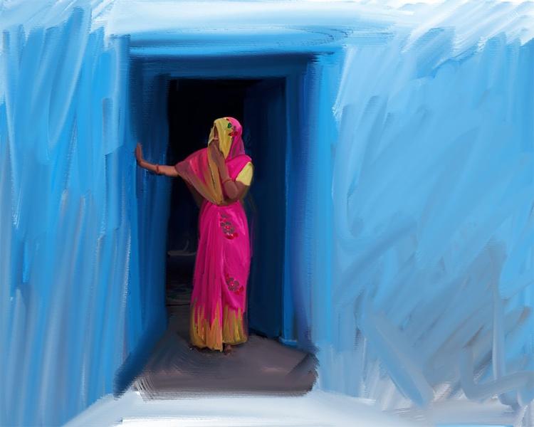 Women at the Door - Image 0