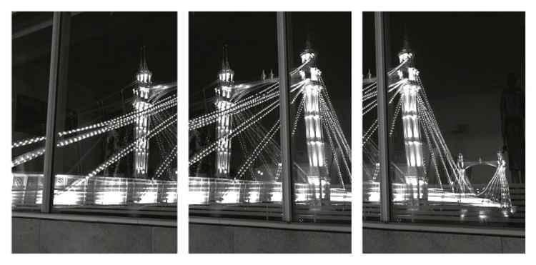 Albert Bridge, London - triptych