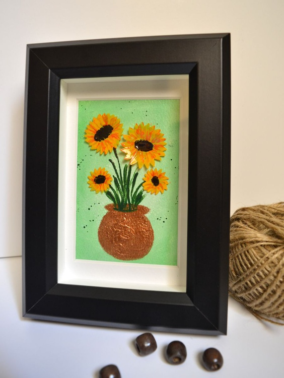 For the planet - Sunflowers - Image 0