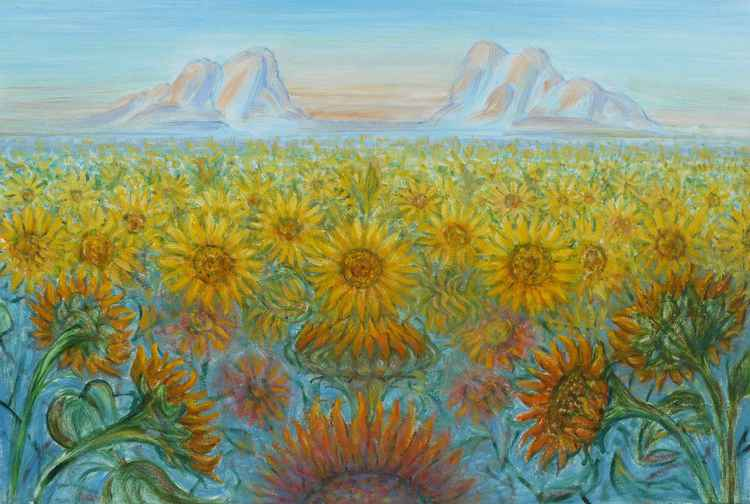 Sunflower fantasy -