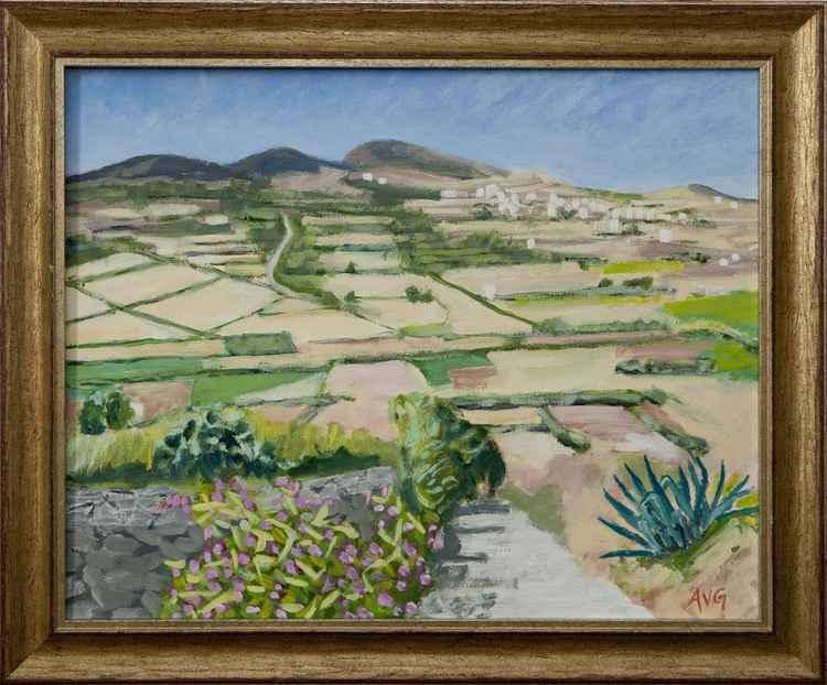 Landscape Naxos Greece -