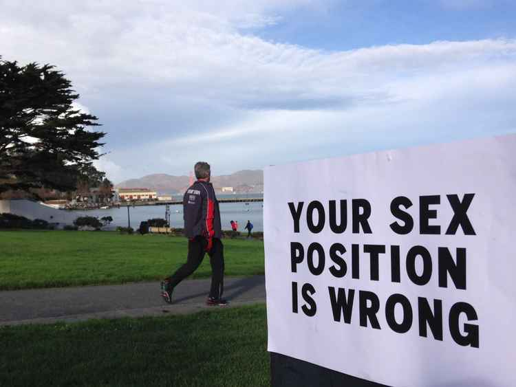 Your sex position is wrong -