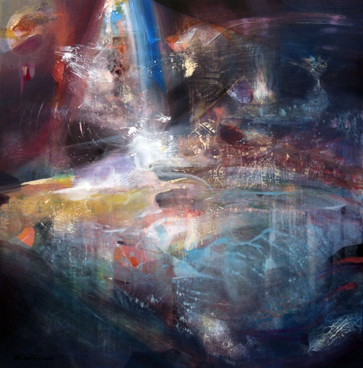 3 seconds after the simplegade stunning diphane abstract melancholia mindscape  by master ovidiu kloska - Image 0